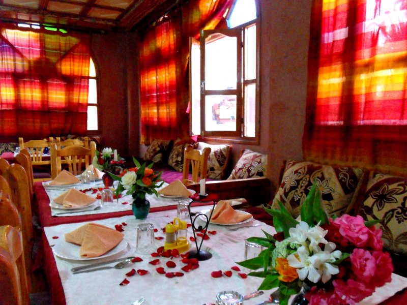H tel les jardins de ouarzazate un havre de paix et de for Hotel du jardin menu