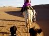 trekking dans le désert